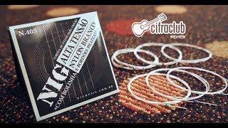 Cordas NIG para violão NYLON BRANCO - Por Cifra Club