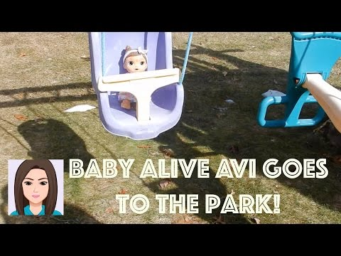 Baby Alive Avi Goes To The Park!