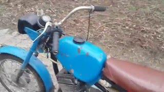 Обзор мотоцикла карпаты, с двигателем от минска