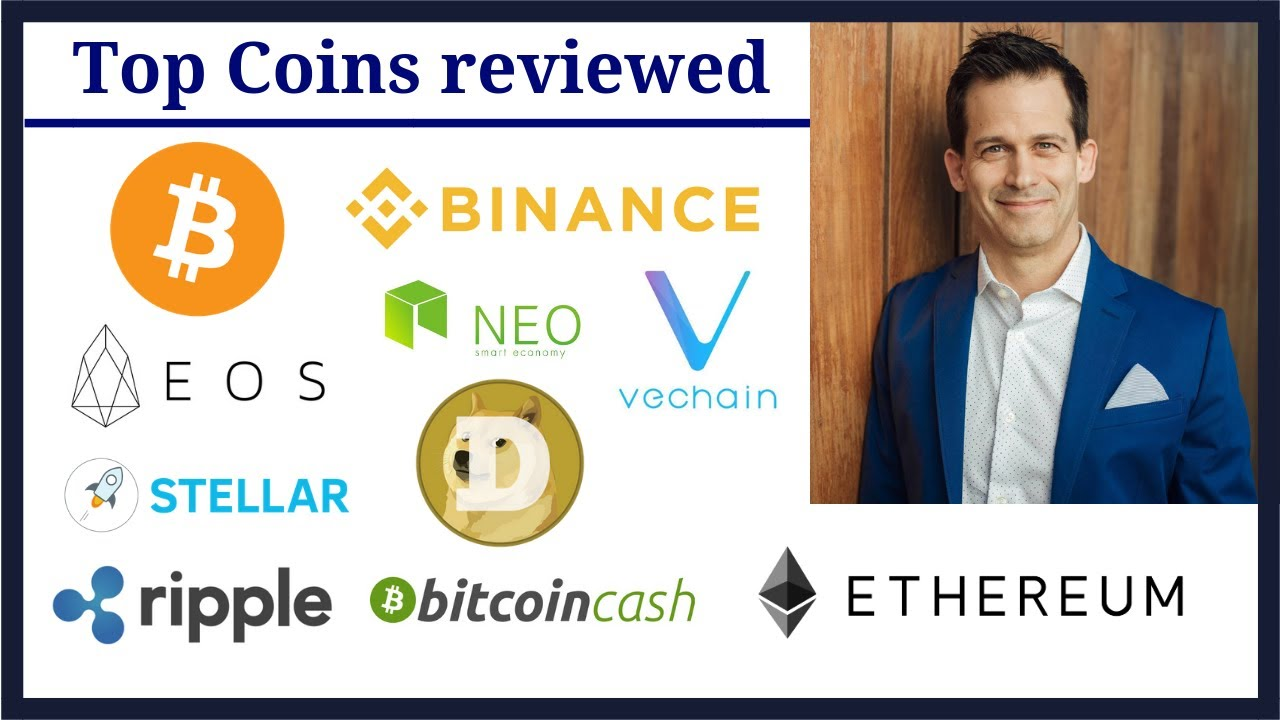 Cryptocurrency Review:  EOS, Ripple, Stellar, NEO, VeChain, Bitcoin Cash, Binance, Bitcoin, Ethereum