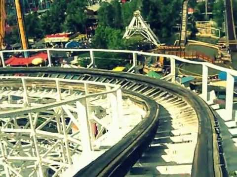 Thrill Ride at Elitch Gardens : Twister II - YouTube