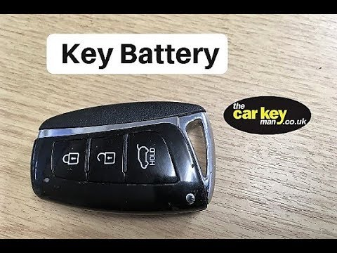Key Battery Hyundai Santa Fe Keyless How To Change