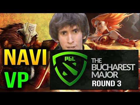 VP VS NAVI - Bucharest Major 2018: Group Stage Round 3