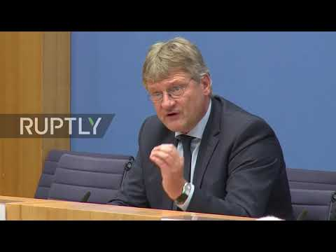 Germany: My family 'violently attacked' by anti-AfD protesters - AfD's spokesman Meuthen