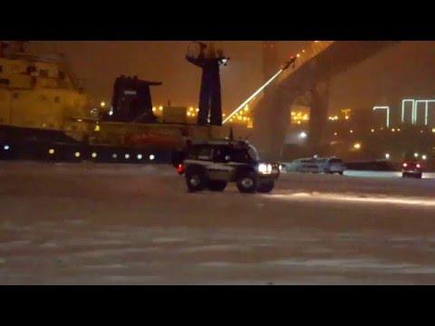 Владивосток 28.02.2016 после снегопада. Набережная цесаревича.