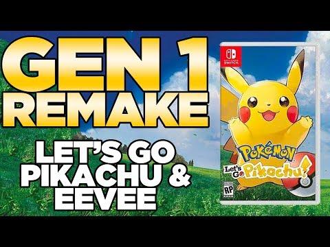 "Pokemon Let's Go Pikachu & Let's Go Eevee for Nintendo Switch ""Real Leaks"" | Austin John Plays"