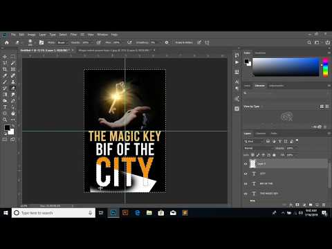 How to Design a Book Cover - Photoshop Tutorial thumbnail