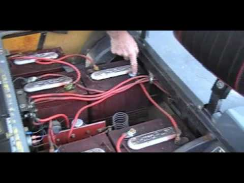 golf cart battery cables 101 part 2 maintenance youtube ez go marathon golf cart diagram ez go golf cart battery wiring diagram #38