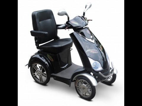 EW-72 Electric 4 Wheel Bike Mobility Scooter
