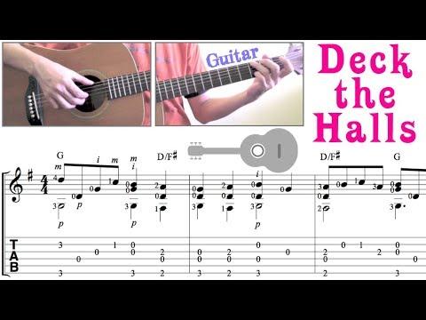 Deck the Halls / Christmas carol (Guitar)