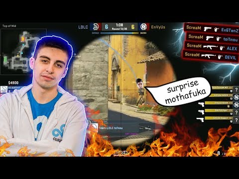 ODDSHOTS #54 - SCREAM INSANE 4 ONE TAPS IN A ROW?! SHROUD COMPETING IN PRO CS AGAIN?! CRAZY 1v5!!