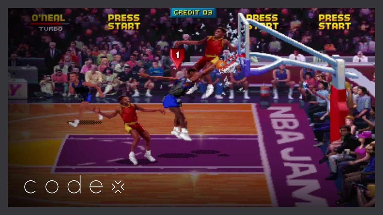 How Nba Jam Revolutionized Cheat Codes Codex Youtube