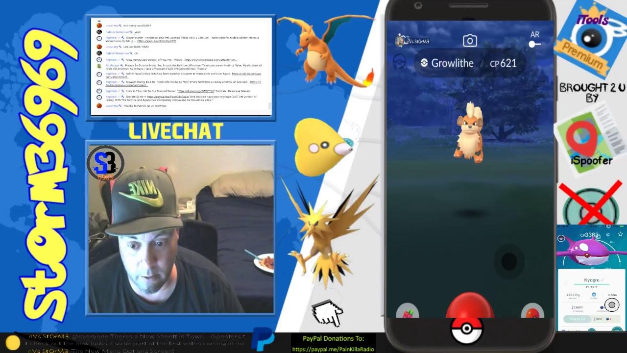Pokemon GO - Spoofing Info - Using iSpoofer Mobile (Secret