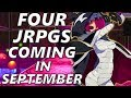 4 JRPGs Coming in September