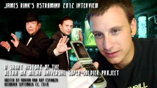 Short History of the Ultra Mk Milab Universal Super Soldier Project - AstroMind 2012 Interview