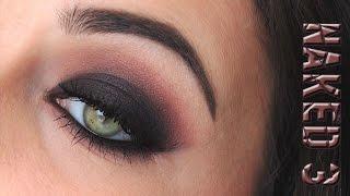 Black & Mauve Smoky Eye | Naked 3