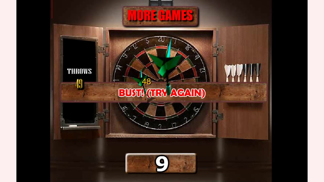 How To Play 501 Darts Game Game Free Online Games Mantigames Com