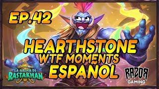 MEJORES MOMENTOS HEARTHSTONE ESPAÑOL | Episodio 42