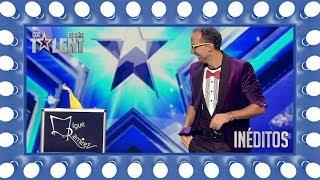 Un pañuelo es suficiente para que este mago brille | Inéditos | Got Talent España 2018
