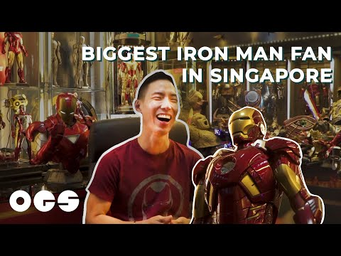 This Man Has an Entire Room Dedicated to 150 Iron Man Figures