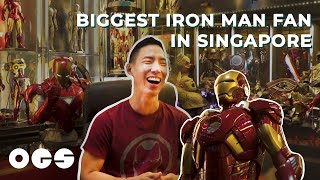 This Man Has A Room Full of Iron Man Figures
