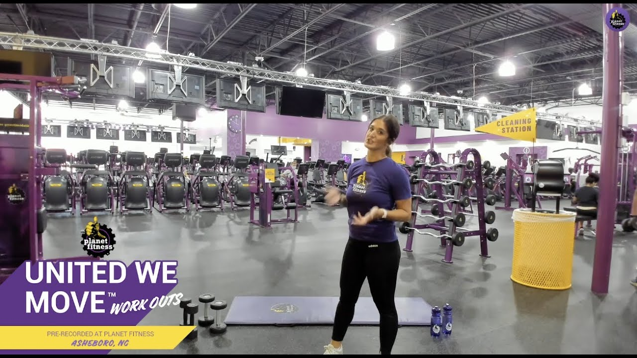 Join Pf Trainer Felicia For An Awesome Free Weight Workout Youtube