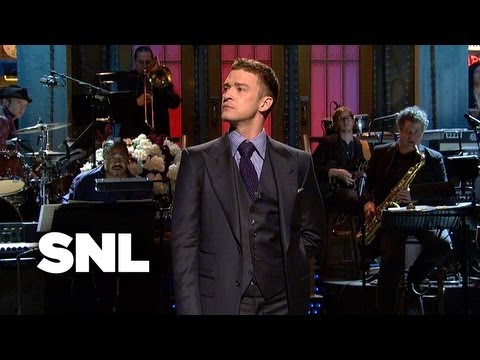Justin Timberlake Monologue - Saturday Night Live