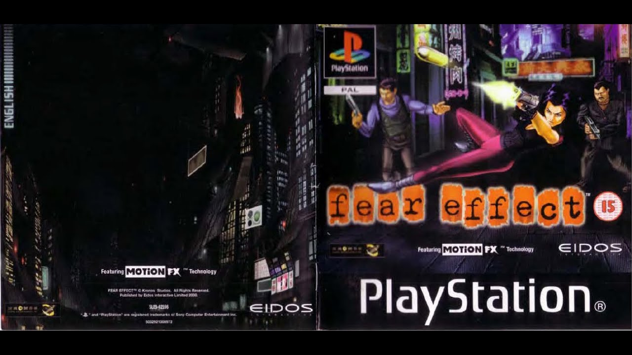 fear effect game manual psx instruction booklet youtube rh youtube com PlayStation Portable PlayStation Vita