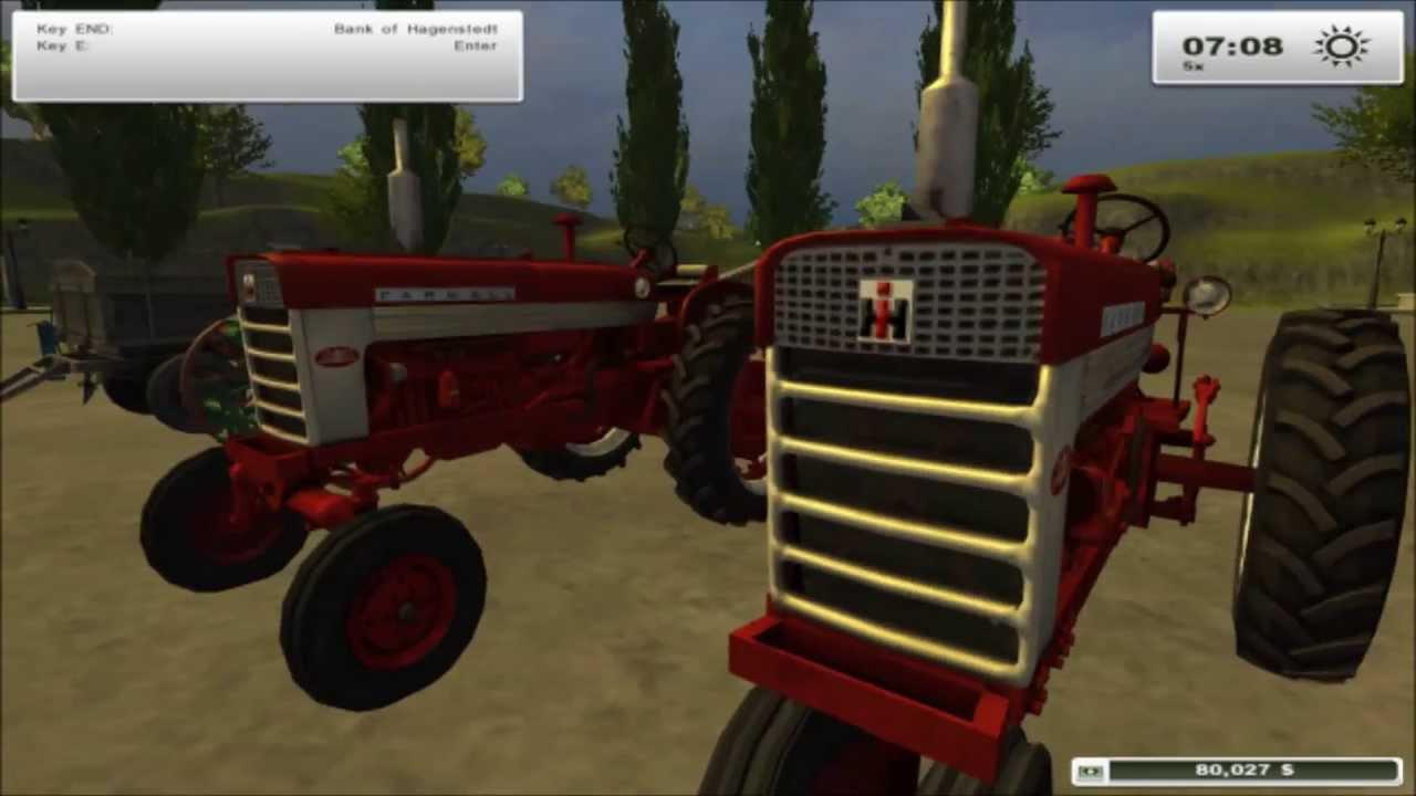 Farmall 560 Tractor mod for Farming Simulator 2013 - YouTube