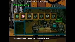 Passwords Of TMNT 2 Battle Nexus 2004