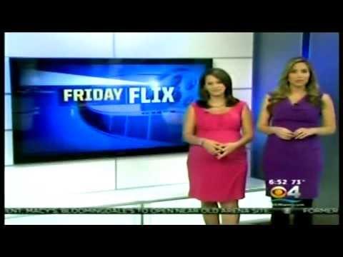 Pregnant news presenter Natalia Zea