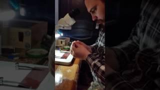 Изготовление капиляров для ИО (искуственное осеменение пчелиных маток)