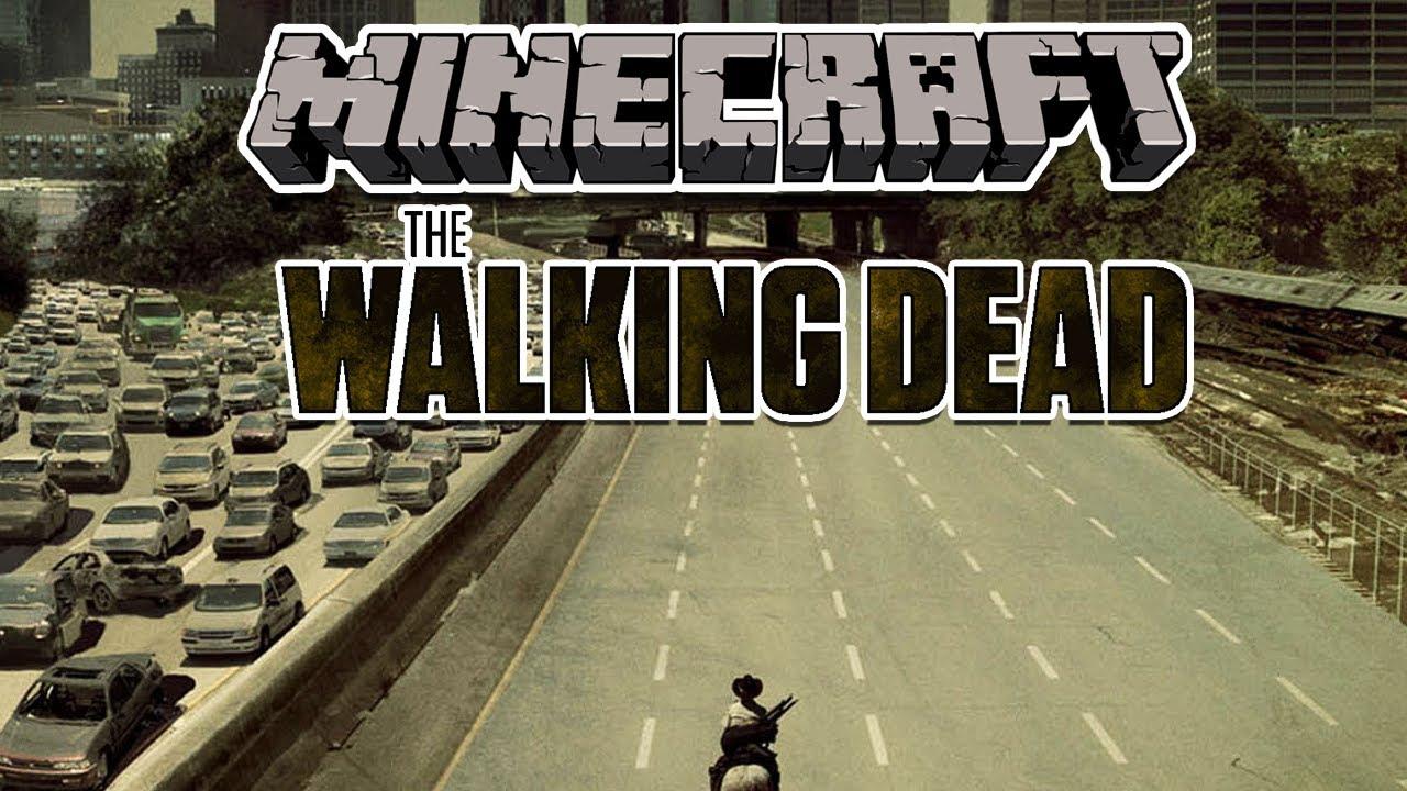 Mapa The Walking Dead.Minecraft Mapas The Walking Dead