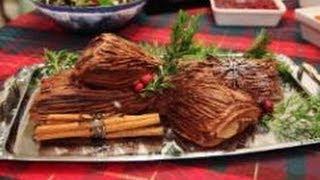 Bûche De Noël- Yule Log Cake