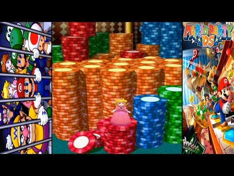 Mario Party DS All Minigames