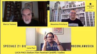 Luca Paci - Soundtrack City in Pillole #20