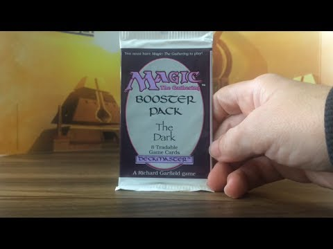 The Dark Booster Pack Opening MTG Magic The Gathering