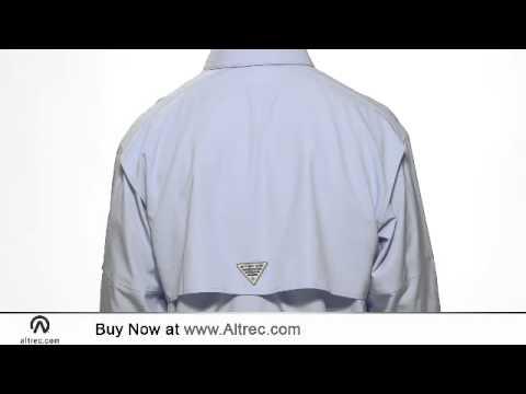 Columbia Men's PFG Omni-Shade Blood And Guts Superlight Long Sleeve Shirt