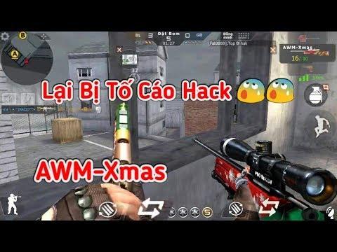 CF Legends   AWM-Xmas Snap Bừa Lại Bị Tố Cáo Hack Huhu !!!   Tường Trần CFM