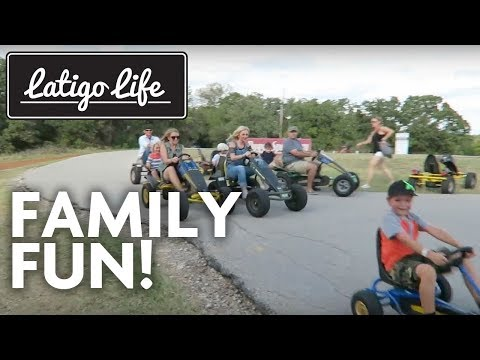 AWESOME OUTDOOR FAMILY EVENT FUN CENTER || The Biggest Backyard in Texas!