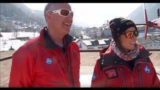 Gülsha im Rettungseinsatz bei der Air Zermatt