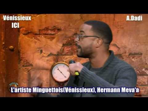 l'artiste Minguettois, Hermann Meva'a au Djamel Comedy Club