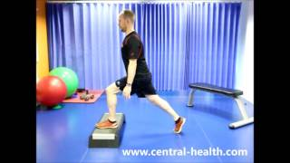 Split Squat onto Step