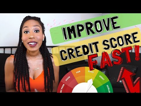 How To Improve your Credit Score FAST | 150+ points!