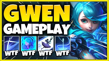 New Champion Gwen is ACTUALLY INCREDIBLE! (Gwen Gameplay) - League of Legends