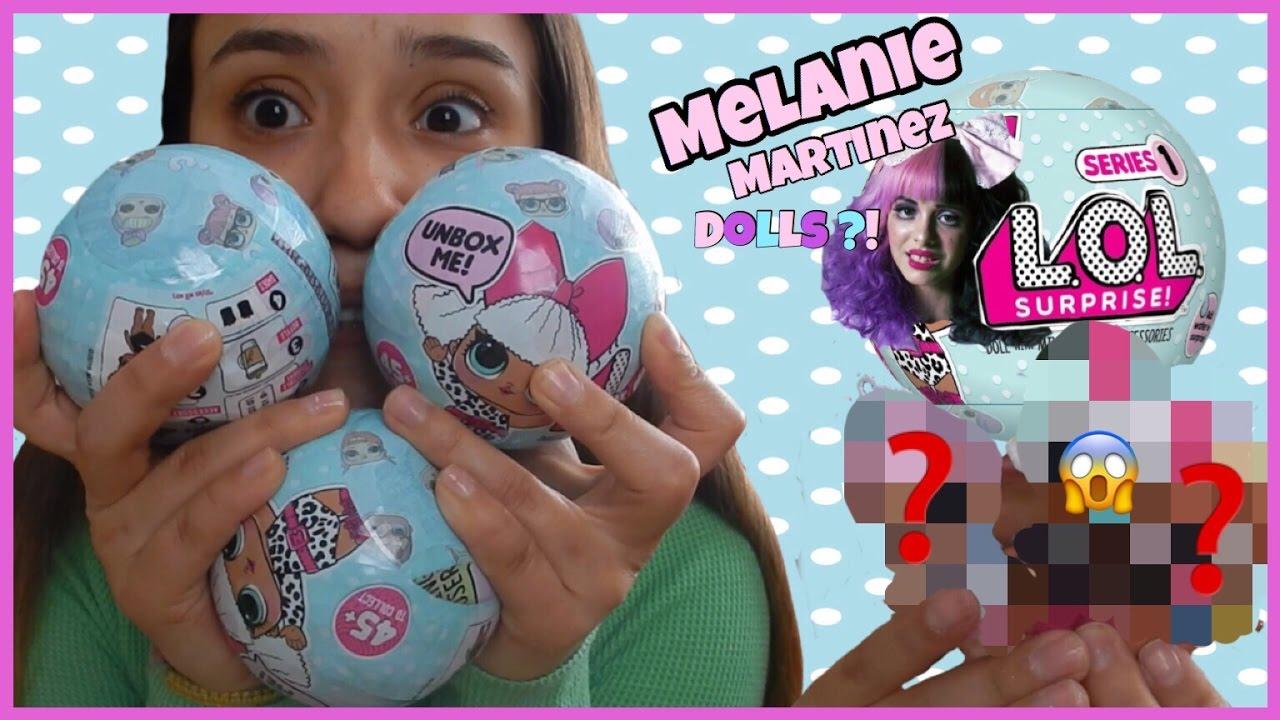 Melanie Martinez Rare Photo >> LOL Surprise Baby Dolls ! + RARE one found ?! Melanie Martinez looking dolls - YouTube
