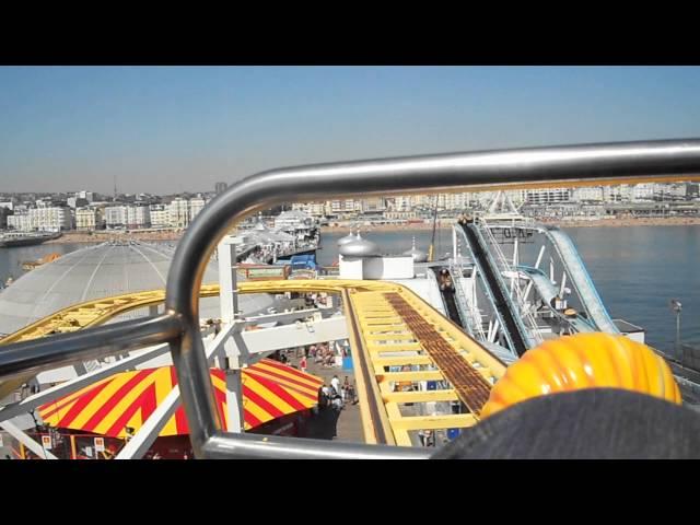 Brighton Pier: Crazy Mouse Onride