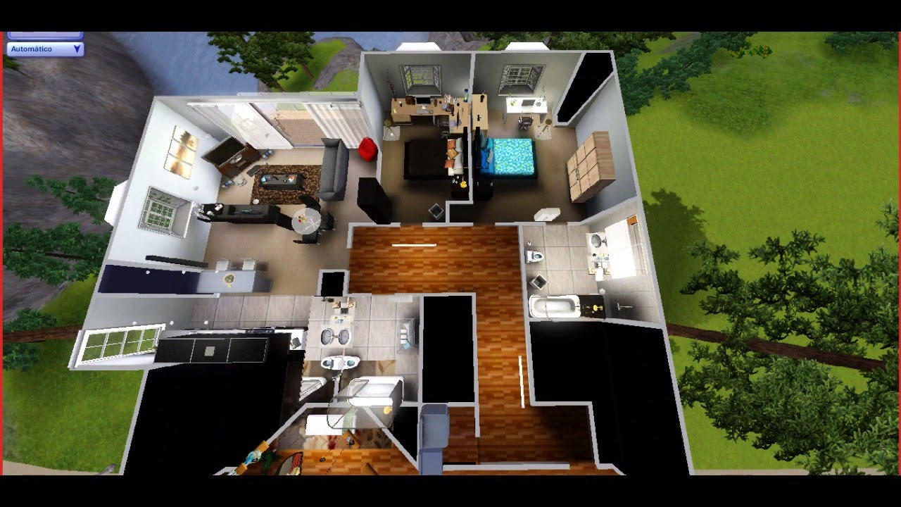 À�building Furnishing】dan And Phil S Manchester Flat【sims 3】 Youtube