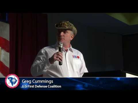 Greg Cummings  U.S. First Defense Coalition - Border Security #SCTeaParty18