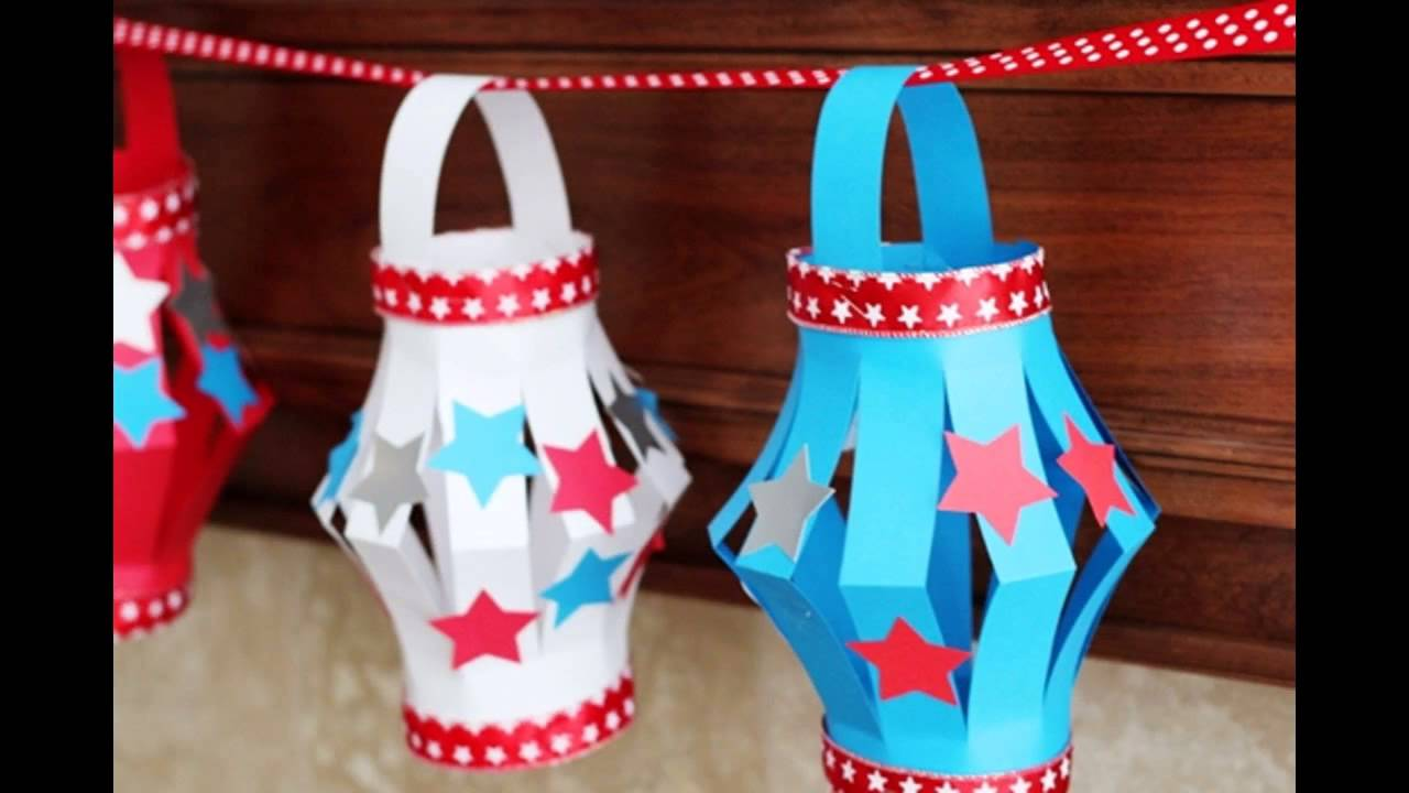 Great patriotic crafts for kids youtube for Americana crafts to make